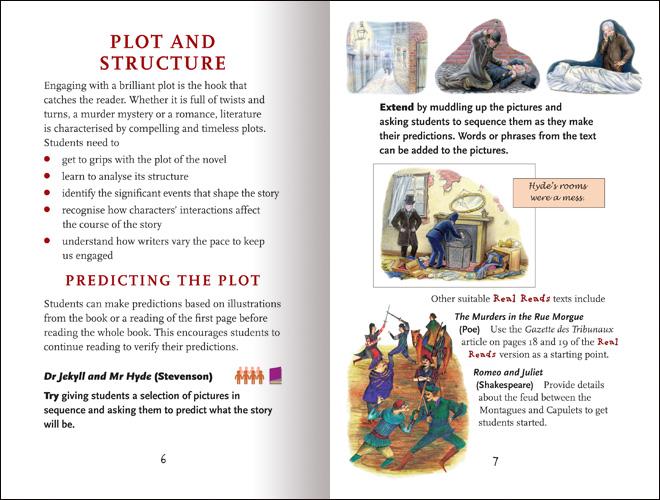 Reawakening Literature: Working with Classic Literature Retellings spread 2
